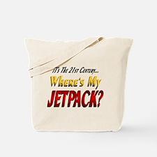 Where's My Jetpack Tote Bag