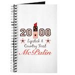 Lipstick Country First McPalin Journal