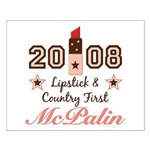 Lipstick Country First McPalin Small Poster