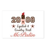 Lipstick Country First McPalin Postcards 8 Pack