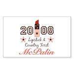 Lipstick Country First McPalin Sticker 10 Pack