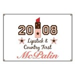 Lipstick Country First McPalin Banner