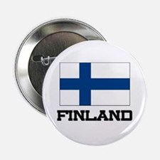 "Finland Flag 2.25"" Button"
