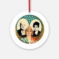 McCain Palin Retro 1904 Ornament (Round)