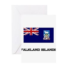 Falkland Islands Flag Greeting Card