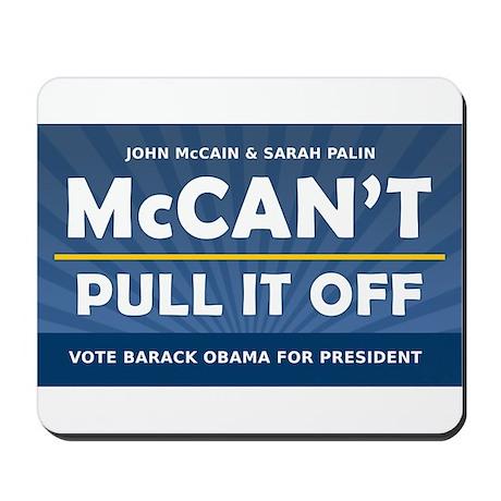 John McCain and Sarah Palin McCan't Pull It Off Mo