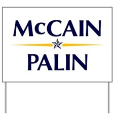 McCain/Palin Yard Sign