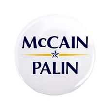 "McCain/Palin 3.5"" Button"
