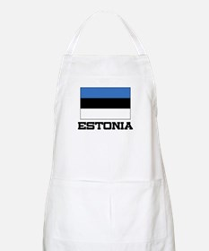 Estonia Flag BBQ Apron