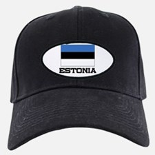 Estonia Flag Baseball Hat