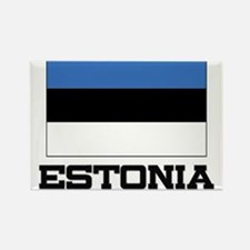 Estonia Flag Rectangle Magnet