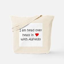 Cute I love fettuccine alfredo Tote Bag