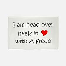 Cute Alfredo Rectangle Magnet