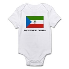 Equatorial Guinea Flag Infant Bodysuit