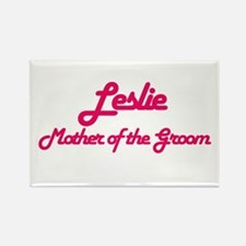 Leslie - Mother of the Groom Rectangle Magnet