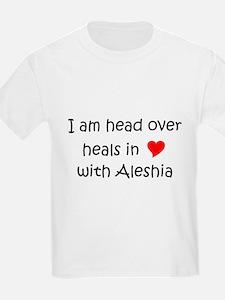 Unique I love aleshia T-Shirt