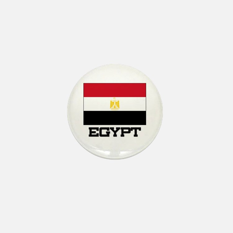 Egypt Flag Mini Button