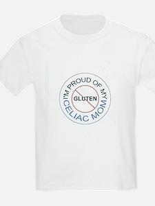 I'm Proud of my Celiac Mom Kids T-Shirt