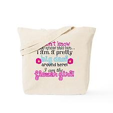 Big Deal Flower Girl Tote Bag