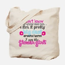 Big Deal Flower Girl Tote Bag