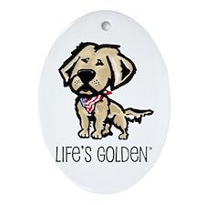 Life's Golden USA Keepsake (Oval)