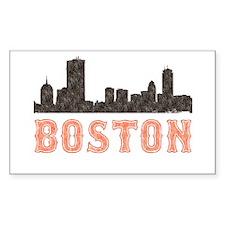 Boston Rectangle Decal