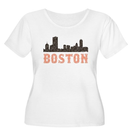 Boston Women's Plus Size Scoop Neck T-Shirt