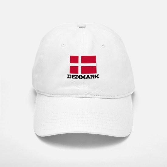 Denmark Flag Baseball Baseball Cap