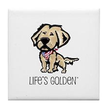 Life's Golden USA Tile Coaster