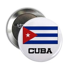 "Cuba Flag 2.25"" Button (10 pack)"