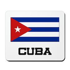 Cuba Flag Mousepad