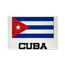 Cuba Flag Rectangle Magnet