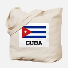 Cuba Flag Tote Bag