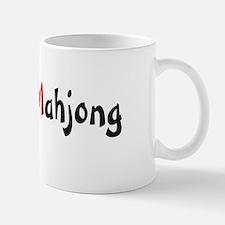 Love Mahjong Mug