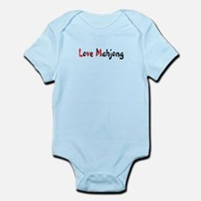 Love Mahjong Infant Bodysuit