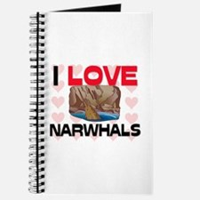 I Love Narwhals Journal