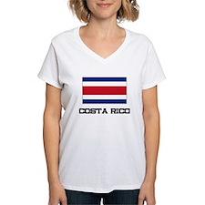 Costa Rico Flag Shirt