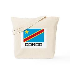 Congo Flag Tote Bag