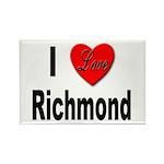 I Love Richmond Virginia Rectangle Magnet (10 pack