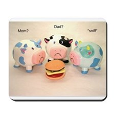 The Sad Cows Mousepad