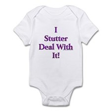 Deal With It Infant Bodysuit