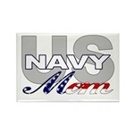 US NAVY Mom Rectangle Magnet (10 pack)