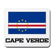 Cape Verde Flag Mousepad