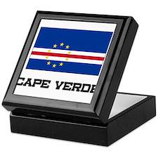 Cape Verde Flag Keepsake Box