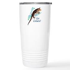 Bearded Dragon Got Crickets I Travel Mug