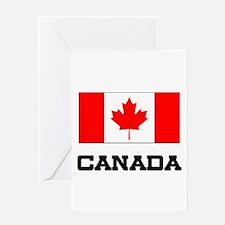 Canada Flag Greeting Card