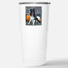 Autumn Sheltie Travel Mug
