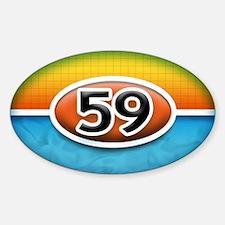 #59 Bryant Trim Oval Decal