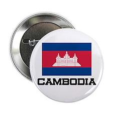 "Cambodia Flag 2.25"" Button"
