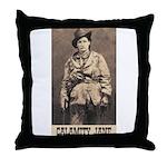 Calamity Jane Throw Pillow